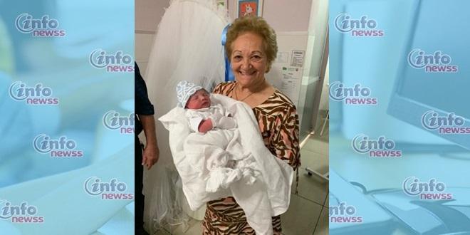 Bisavó realiza parto de bisneto em condomínio em Teresina os 77 anos